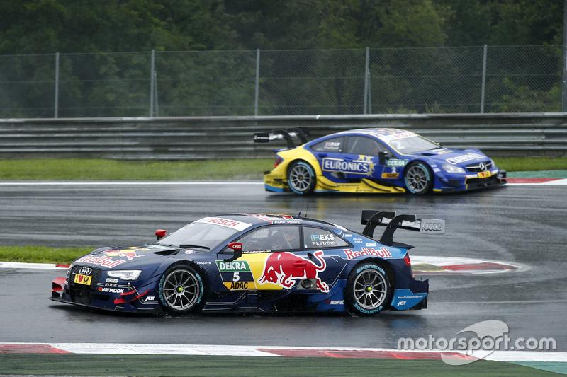 Маттіас Екстрем, Audi Sport Team Abt Sportsline, Audi A5 DTM лідирує  Гері Паффетт, ART Grand Prix Mercedes-AMG C63 DTM