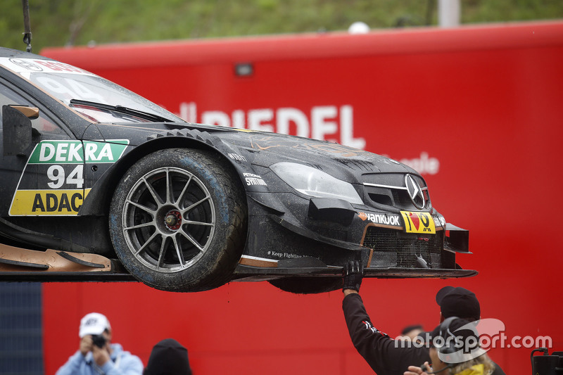 Carro de Pascal Wehrlein, HWA AG Mercedes-AMG C63 DTM