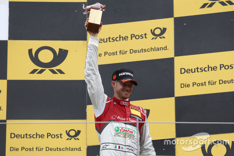 Third place Edoardo Mortara, Audi Sport Team Abt Audi RS 5 DTM