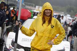 Gridgirl of Martin Tomczyk, BMW Team Schnitzer BMW M4 DTM