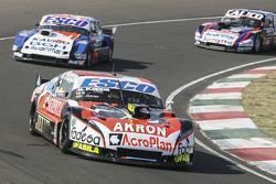 Guillermo Ortelli, JP Racing Chevrolet and Jose Savino, Savino Sport Ford and Emanuel Moriatis, Alifraco Sport Ford