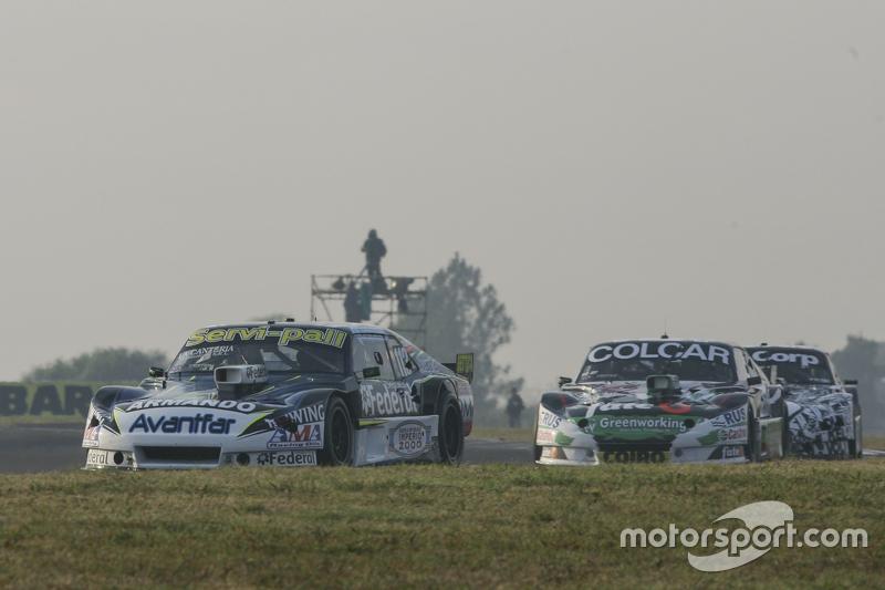 Diego de Carlo, JC Competicion Chevrolet dan Gaston Mazzacane, Coiro Dole Racing Chevrolet dan Laure