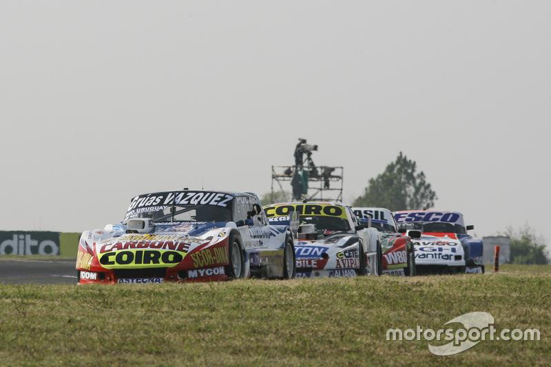 Lionel Ugalde, Ugalde Competicion Ford, dan Martin Serrano, Coiro Dole Racing Dodge, dan Mariano Altuna, Altuna Competicion Chevrolet, dan Jose Savino, Savino Sport Ford