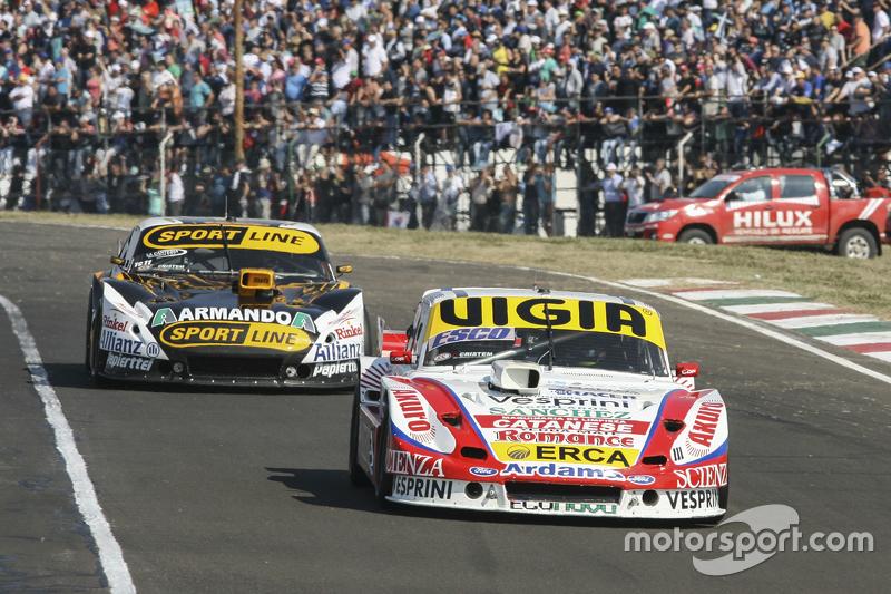 Juan Manuel Silva, Catalan Magni Motorsport Ford dan Leonel Pernia, Las Toscas Racing Chevrolet