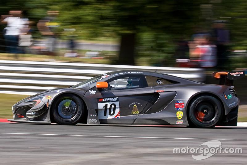 10 Von Ryan Racing Mclaren 650S GT3: Andrew Watson, Ross Wylie at ...