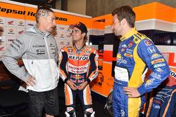 Марко Андретти, Andretti Autosport Honda и Дани Педроса, Repsol Honda Team и Ники Хейден