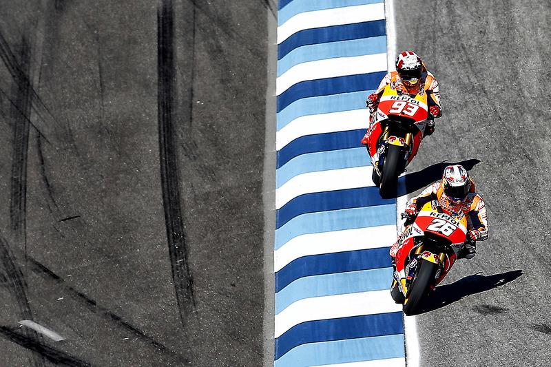 Dani Pedrosa, Repsol Honda Team dan Marc Marquez, Repsol Honda Team