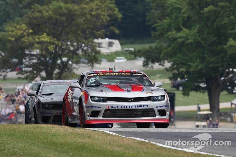 #6 Stevenson Motorsports Camaro Z/28.R: Robin Liddell, Andrew Davis