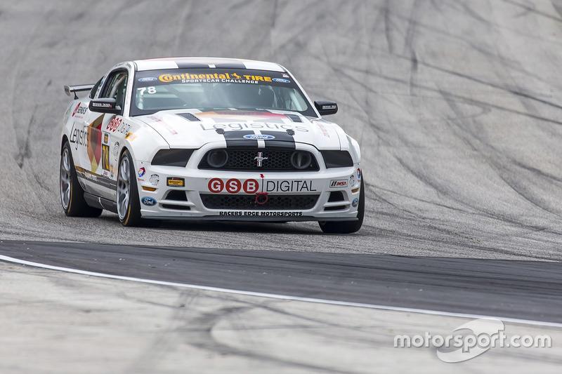 #78 Racers Edge Motorsports Mustang Boss 302 R: Chris Beaufait, Bob Michaelian