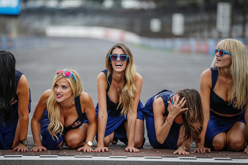 Lovely Red Bull girls