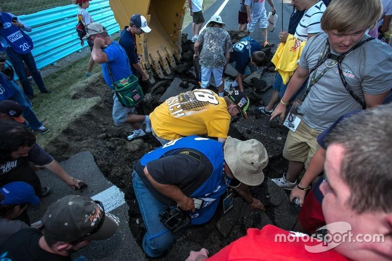 Repaving work begins at Watkins Glen