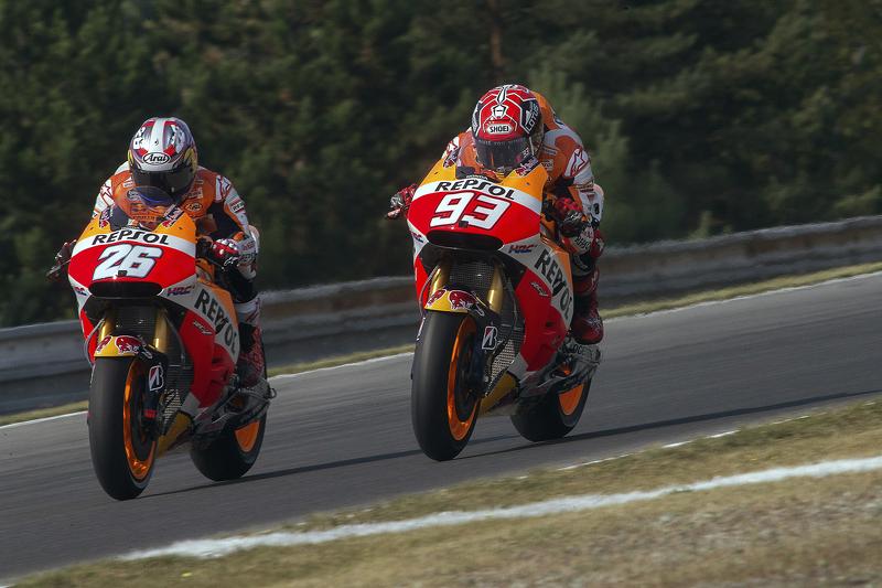 Marc Marquez, dan Dani Pedrosa, Repsol Honda Team