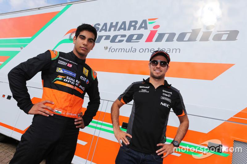 Jehan Daruvala und Sergio Perez