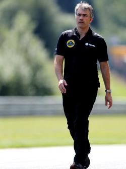 Nick Chester, Director Técnico de Lotus F1 Team