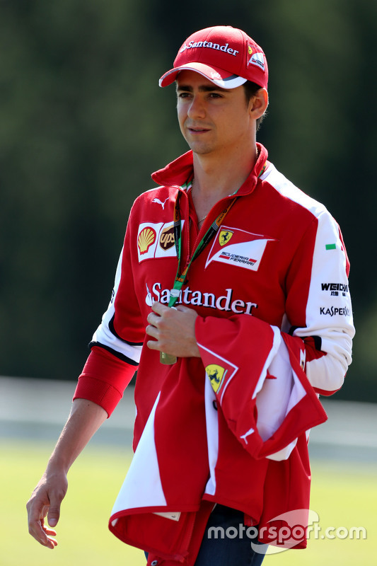 Esteban Gutiérrez, Scuderia Ferrari