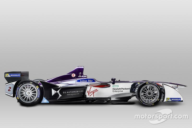 Pintura da DS Virgin Racing