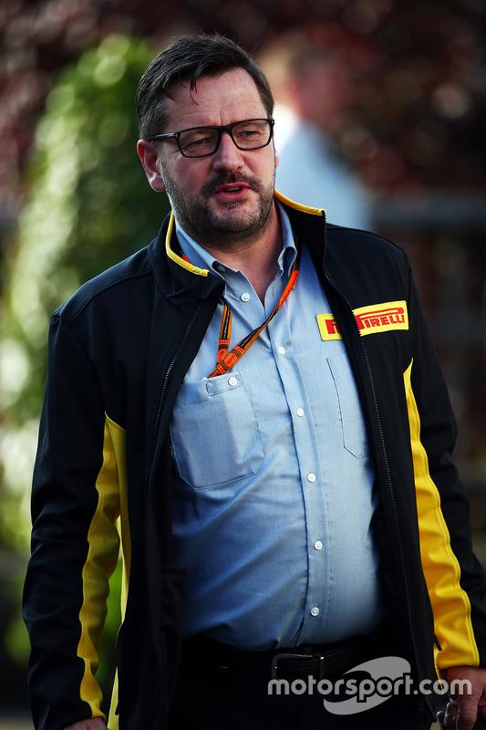 Пол Хембрі, директор Pirelli Motorsport