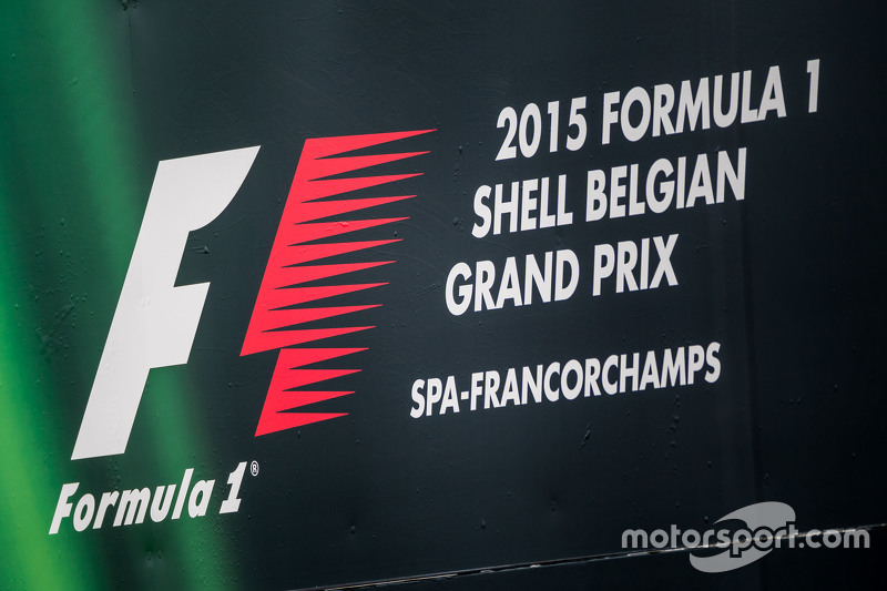 2015 Shell Belgian Grand Prix logo