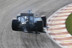 Искры из-под машины Маркуса Эриксона, Sauber C34