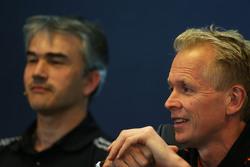 Andrew Green, Sahara Force India F1 Team технічний директор на пресс-конференції FIA