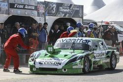 First time refueling in TC Juan Bautista de Benedictis, Alifraco Sport Ford
