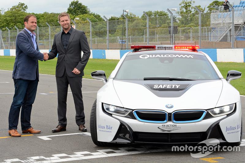 Präsentation des BMW Safety-Cars