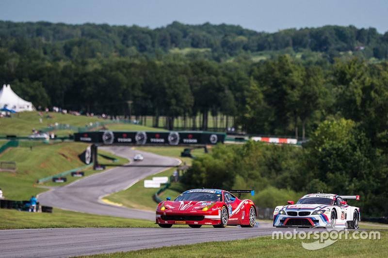 #63 Scuderia Corsa Ferrari 458 Italia: Білл Свідлер, Таунсенд Белл та #25 BMW Team RLL BMW Z4 GTE: Bill Auberlen, Дірк Вернер