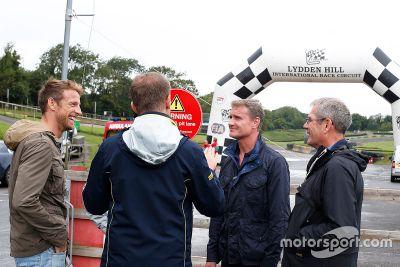 Coulthard/Button prueba autos World RX