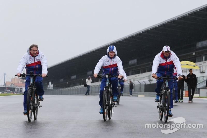 Mike Conway und Stéphane Sarrazin, Toyota Racing
