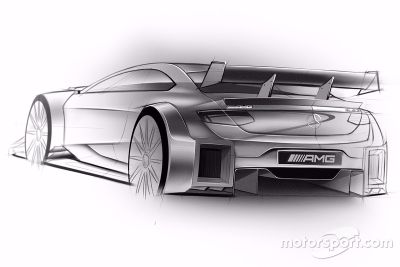 Mercedes-Benz DTM 2016, i disegni
