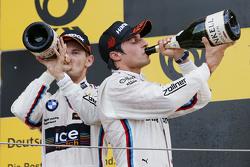 Podium: second place Marco Wittmann, BMW Team RMG BMW M4 DTM, third place Bruno Spengler, BMW Team MTEK BMW M4 DTM