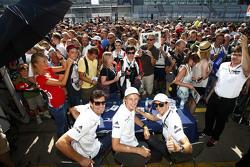 Timo Bernhard, Mark Webber, Brendon Hartley, Porsche Team