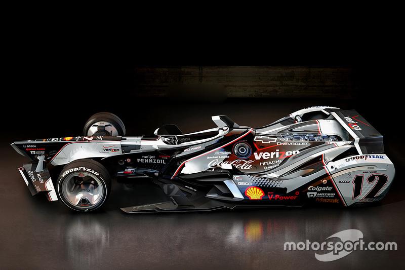 Mögliche Designs für IndyCars der Generation 2035, von Wekoworks auf www.wekoworks.com