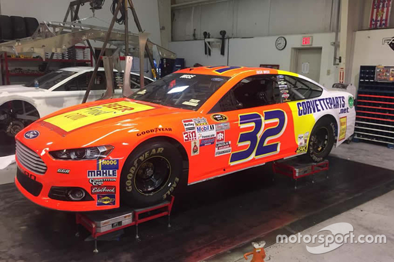 Josh Wise special throwbakc paint scheme