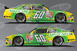 New sponsor Advocare for Chris Buescher, Roush Fenway Racing Ford