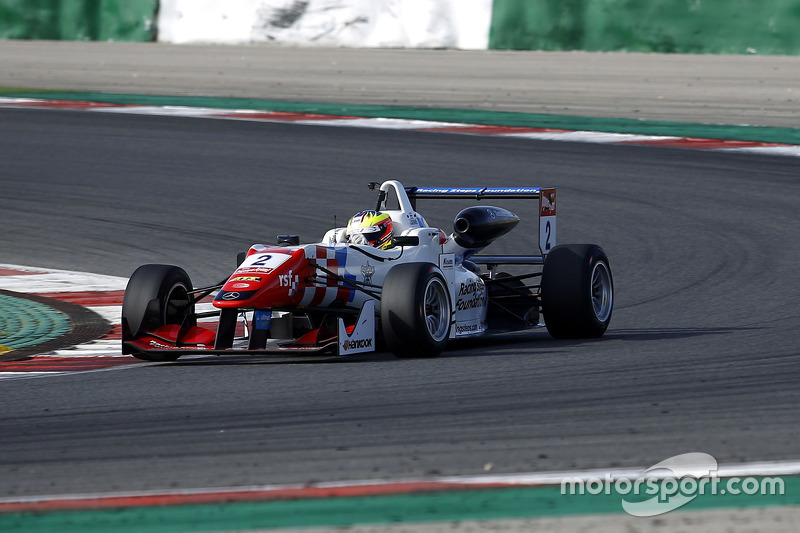 Jake Dennis, Prema Powerteam Dallara F312 - Mercedes-Benz