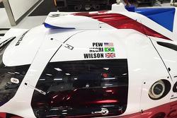 Sonderlackierung in Gedenken an Justin Wilson bei Michael Shank Racing