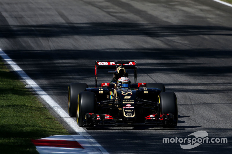 Romain Grosjean, Lotus F1, E23