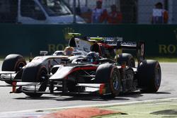 Sergey Sirotkin, Rapax leads Rio Haryanto, Campos Racing