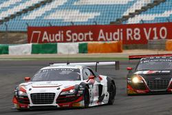 #6 Phoenix Racing Audi R8 LMS: Markus Winkelhock, Niki Mayr-Melnhof