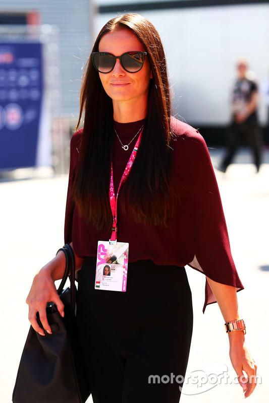 Minttu Virtanen, novia de Kimi Raikkonen, Ferrari