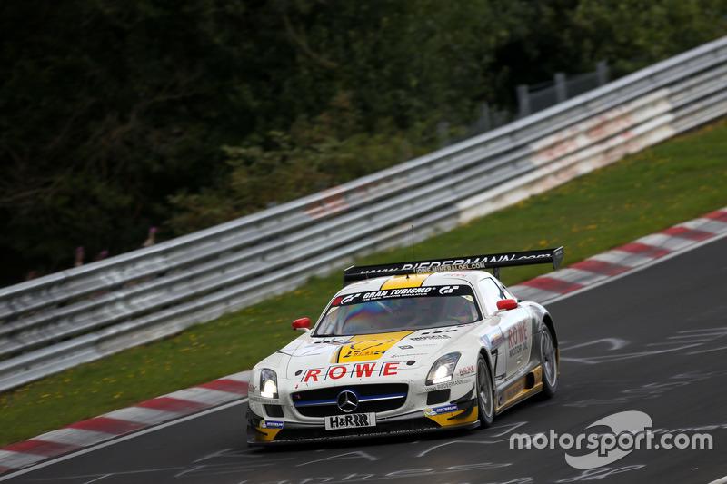 #7 Rowe Racing Mercedes-Benz SLS AMG GT3: Klaus Graf, Christian Hohenadel
