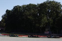 Simon Trummer, Hilmer Motorsport leads Nobuharu Matsushita, ART Grand Prix