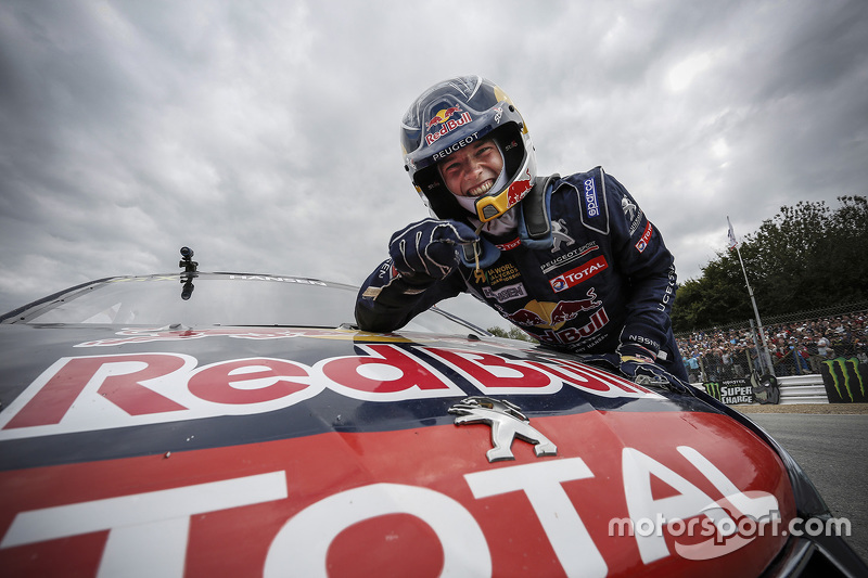 Race winner Timmy Hansen, Team Peugeot-Hansen