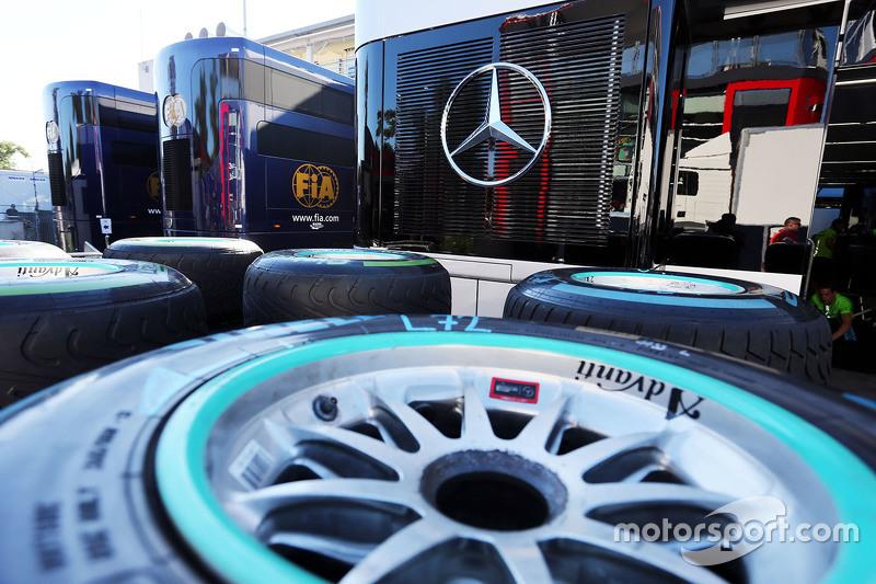 Pirelli-Reifen für Mercedes AMG F1