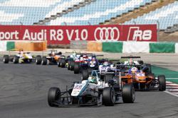 Nabil Jeffri, Motopark Dallara Volkswagen and Michele Beretta, Mücke Motorsport Dallara Mercedes-Ben