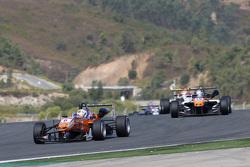 Michele Beretta, Mücke Motorsport Dallara Mercedes-Benz and Matt Solomon, Double R Racing Dallara Me