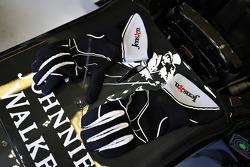 Les gants de Jenson Button, McLaren