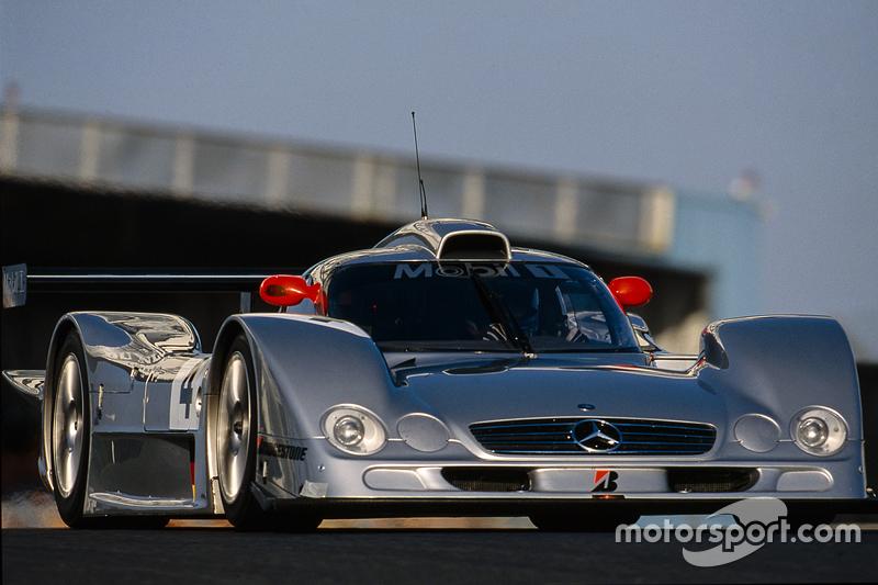 1999: Le Mans mit dem Mercedes CLR