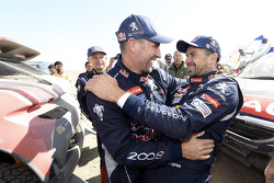 Stéphane Peterhansel y Cyril Despres, Peugeot 2008 DKR